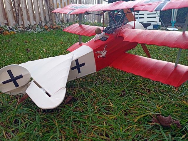 Fokker DR1 Triplane (oz2653) by Harold J Towner from Astral
