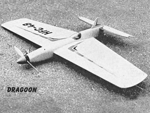 Dragoon (oz2663) by Hoh Fang-Chiun from Model Aircraft 1961