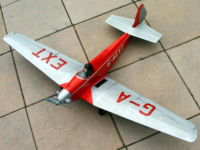 Dart Kitten II (oz2682) by David Larkin from Radio Control Scale Aircraft 1993