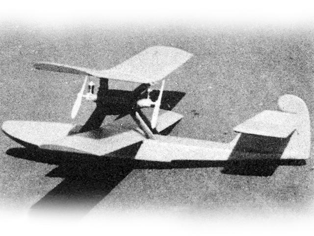 Boeing PB-1 - completed model photo