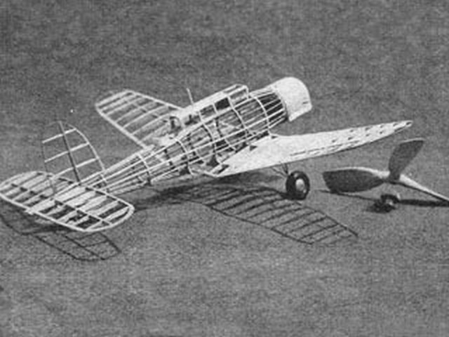 Blackburn Fleet Fighter (oz2689) from Air Trails 1937