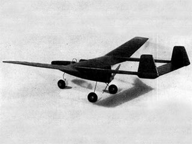 Push Rod (oz2695) by Paul Palanek from Model Airplane News 1950