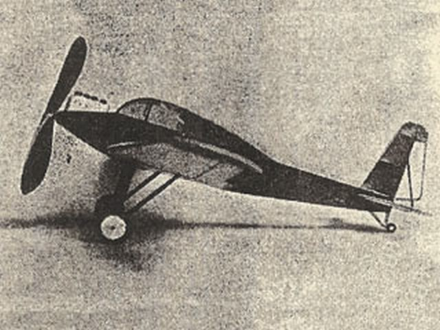 Guillemin J.G. 10 (oz2705) by Elbert J Weathers from Flying Aces 1936