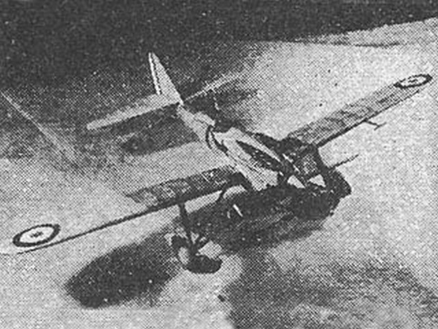 Dewoitine D-500 (oz2712) by Nick Limber from Flying Aces 1935