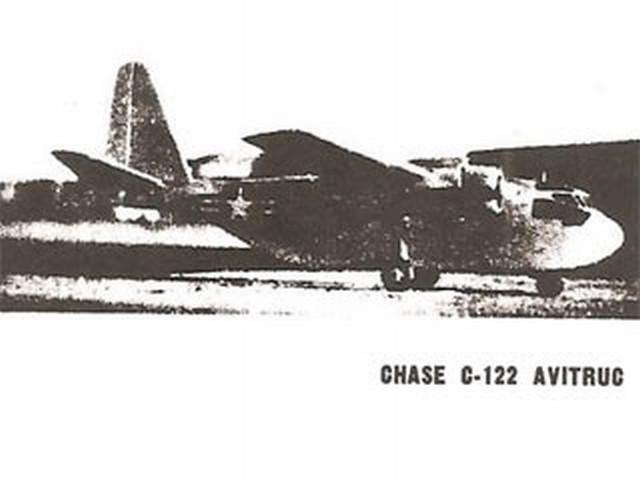 Chase C-122 Avitruc - completed model photo