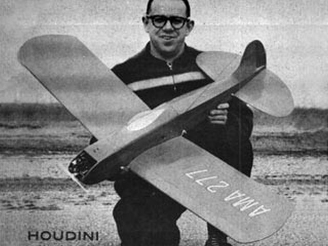 Houdini (oz2722) by Jerry Stoloff from Model Airplane News 1959
