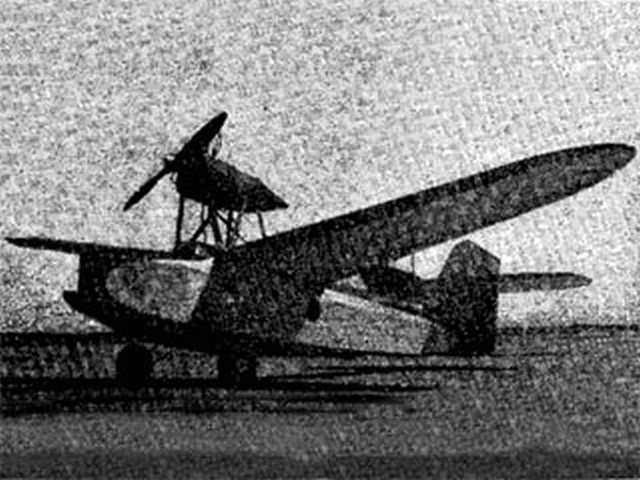 Duck Gas Buggy (oz2728) by Pete Bowers from Flying Aces 1939