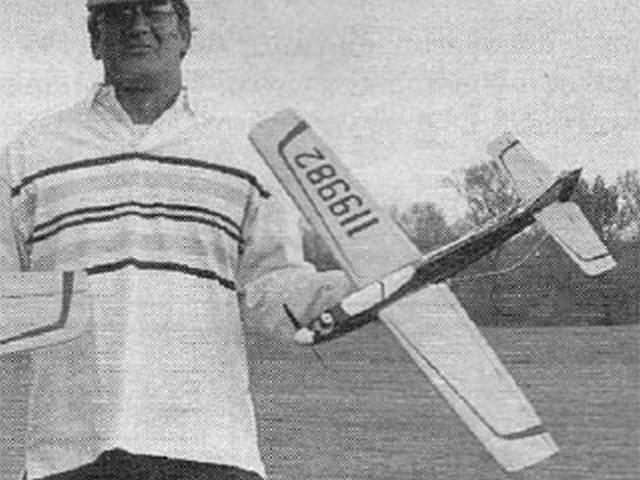 Tack Hammer (oz2734) by Leon Schnitzspahn from Flying Models 1989