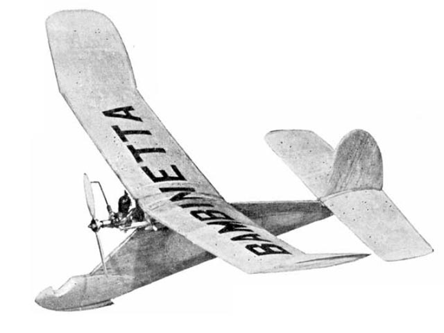 Bambinetta (oz2744) by Ray Malmstrom from Model Aircraft 1955