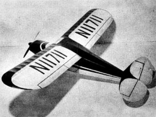 Piper Pacer (oz2774) by Earl Cayton from Flying Models 1954