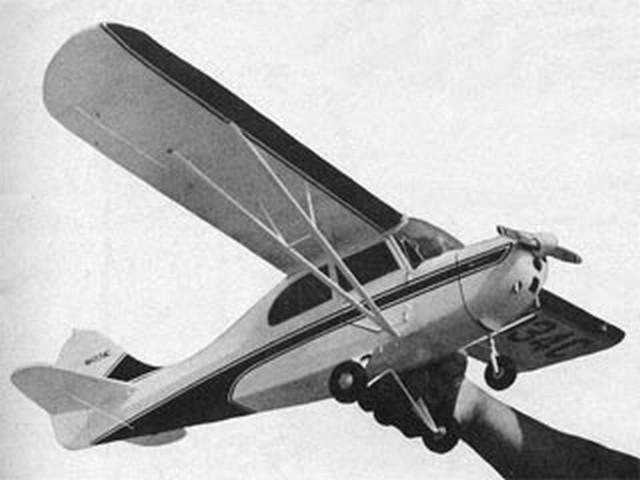 Tri-Traveler (oz2821) by Dan Lutz from Model Airplane News 1959
