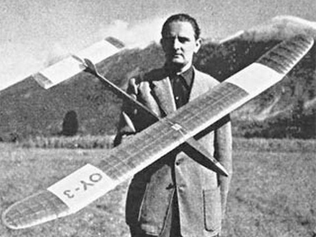 Aurikel (oz2825) by Hans Hansen from Model Aircraft 1954