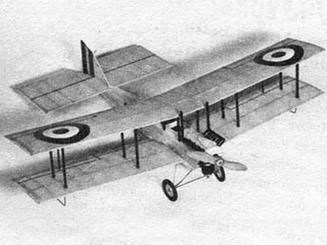 DeHavilland DH6 Trainer - completed model photo