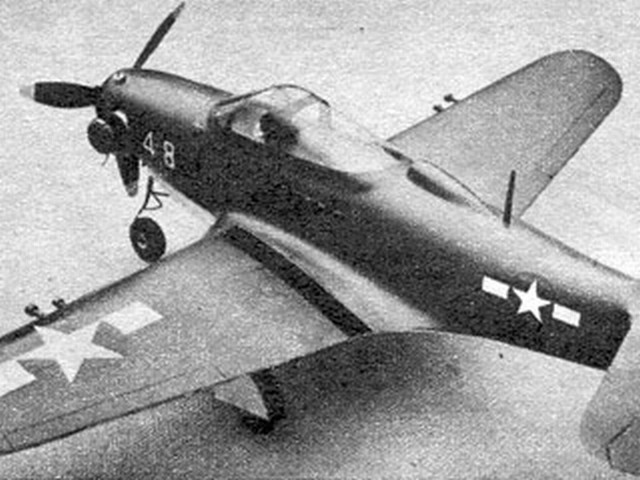 Airacobra P-39 - completed model photo