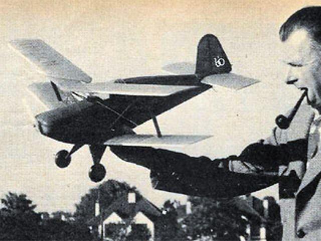 El Bobo (oz2836) by George Woolls from Model Airplane News 1960