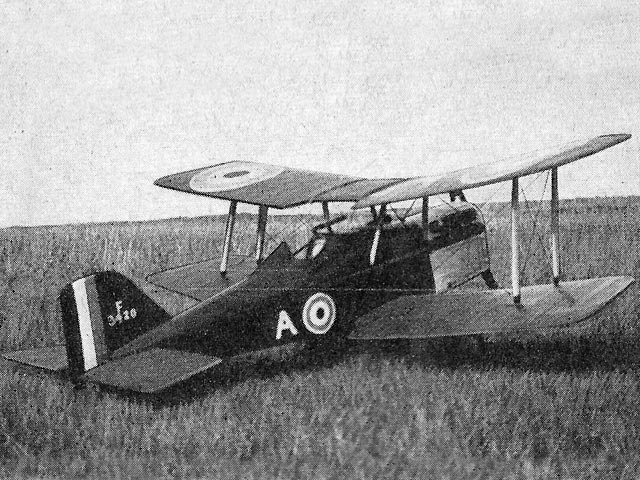 SE5a (oz2849) by AW Garry from Model Aircraft 1954