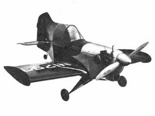 Stits Junior (oz2874) by Aubrey Kochman from Air Trails 1951