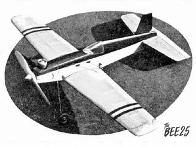 Bee 25 (oz2881) by PW Green from Model Aircraft 1954