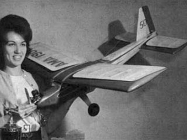 Hi-Fin (oz2883) by Harrison Morgan from Model Airplane News 1965