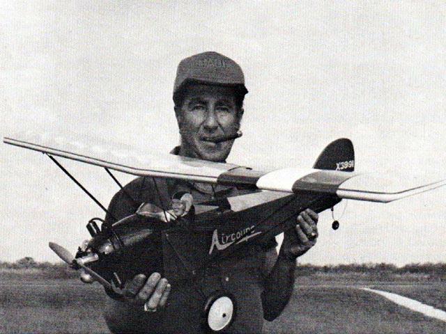 Elias Aircoupe (oz2909) by Stu Richmond from Model Builder 1985