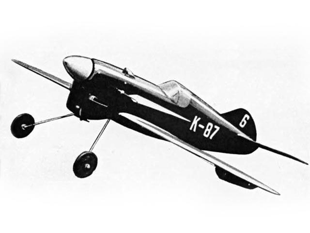 Nervensage (oz2915) by Wilfred Kröger from Model Aircraft 1955