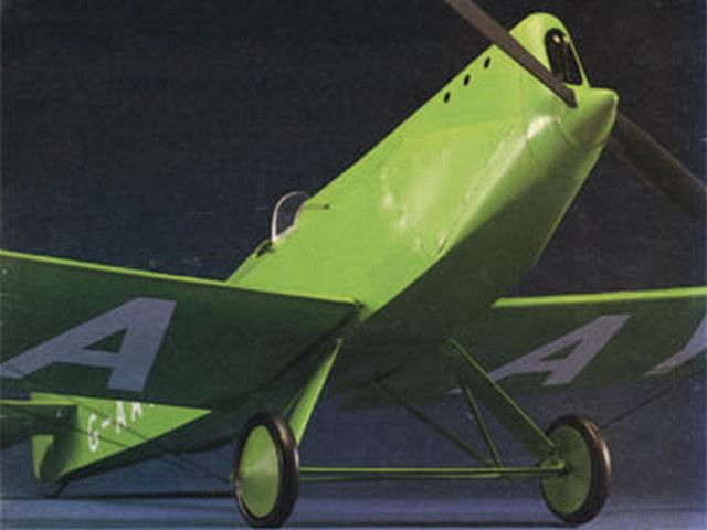 Avro Avian Monoplane (oz2922) by Bill Dennis from Aeromodeller 1986