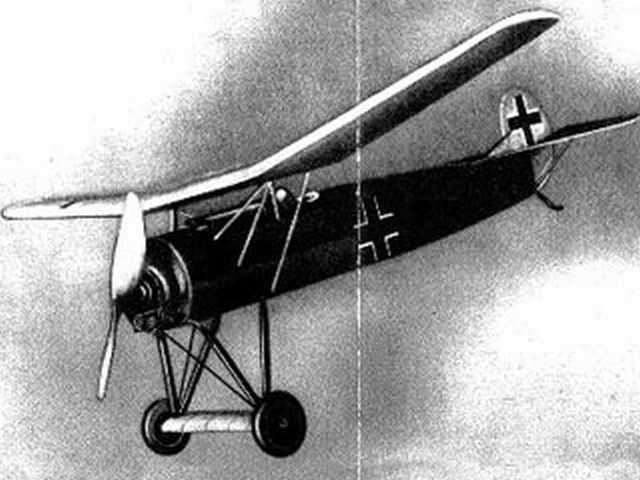 Fokker DVIII (oz2924) by HFA Schelhasse from CJE Volckmann 1936