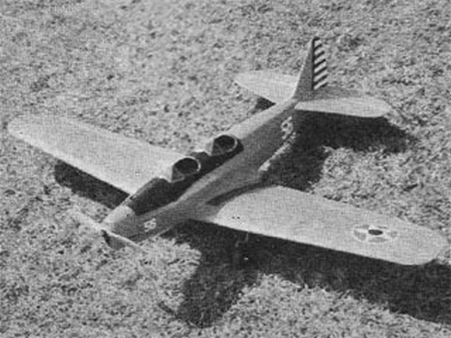 Fairchild PT-19 (oz2948) by Raymond Clapper from Model Airplane News 1968