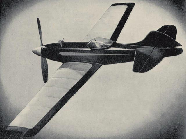 Dervish (oz2951) by Cyril Shaw from Model Aviation Planbook 1950
