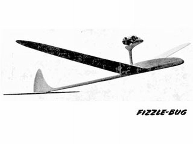 Fizzle-bug (oz2956) by Ian Dowsett from Model Aircraft 1955