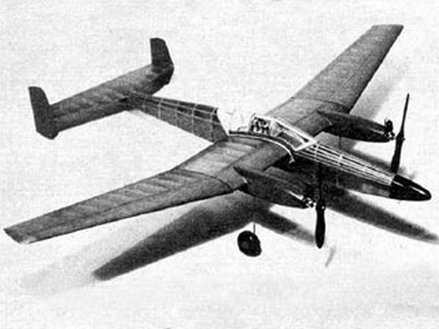 Dual Air (oz2961) by Frank Ehling from Model Airplane News 1947