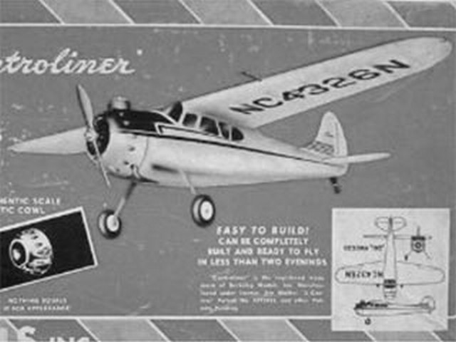 Cessna 195 (oz297) by Paul Plecan from Berkeley 1948