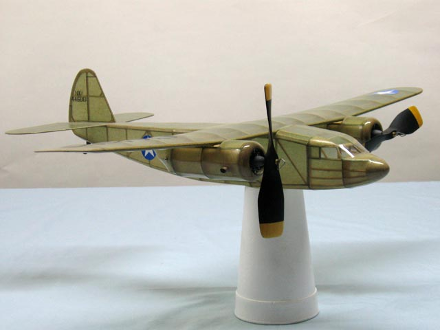 Cessna C-106 Loadmaster - completed model photo
