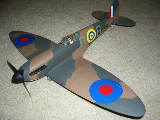 Spitfire I - oz2986 - Bill_G