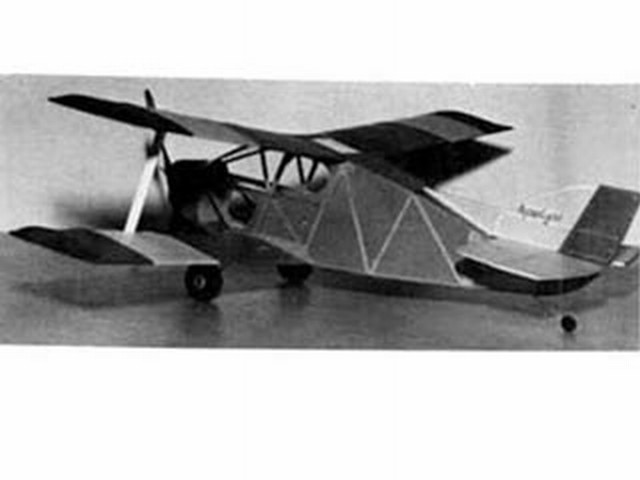 Sorrell Hiperlight (oz3002) by Clive Wienker from Model Builder 1985