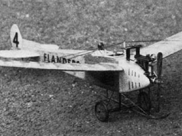Flanders F3 (oz3029) by WD Binns from Aeromodeller 1980