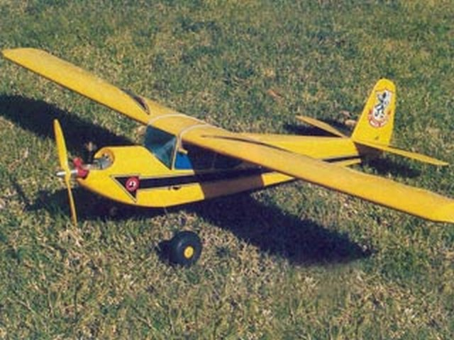 RCM 1/2A Basic Trainer (oz3030) by Dick Tichenor from RCMplans 1978