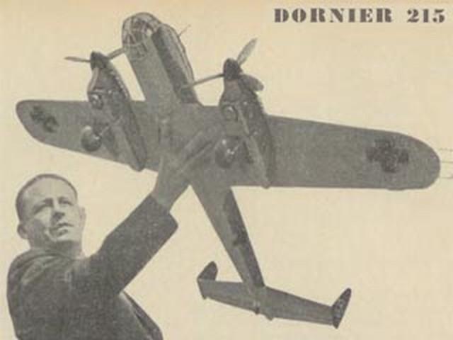 Dornier Do 215 - completed model photo
