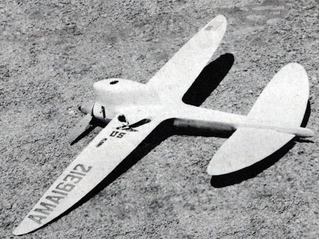 Dizzy Bug (oz3042) from Model Airplane News 1962