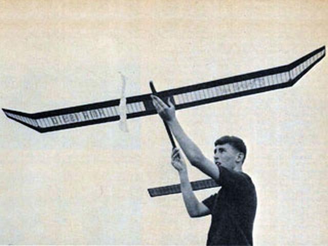 Dove (oz3043) by Bill Schieman from Model Airplane News 1966