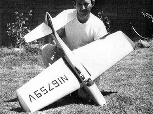 Bellanca Super Viking 300 (oz3065) by James Young from Model Airplane News 1969