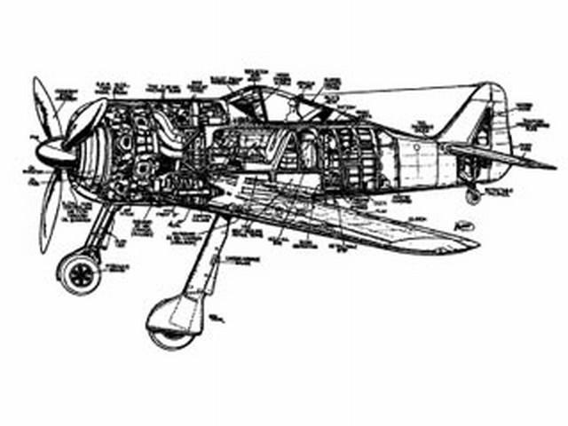 Focke-Wulf Fw-190 A3 (oz3078) from Modern Hobbycraft 1943