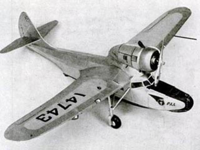 Fairchild Amphibian (oz309) by Paul Lindberg from Popular Aviation 1935