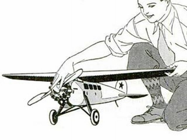 Lockheed Vega (oz3115) by Vincent Johnstone from Popular Science Monthly 1929