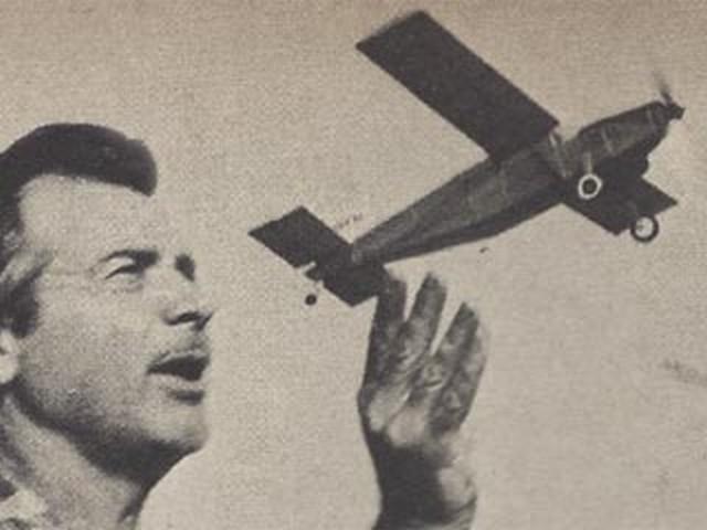 Pilatus PC-6 Porter (oz3118) by Walt Mooney from Model Airplane News 1965
