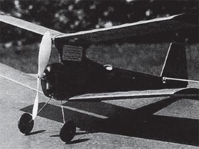 CO2 Sporty (oz3121) by JS Russell from Aeromodeller 1986