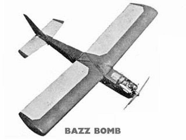 Bazz Bomb - completed model photo