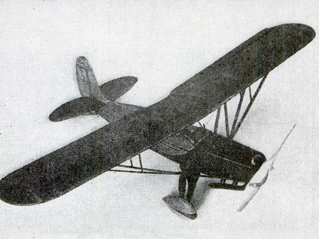 Fairchild 22 - completed model photo