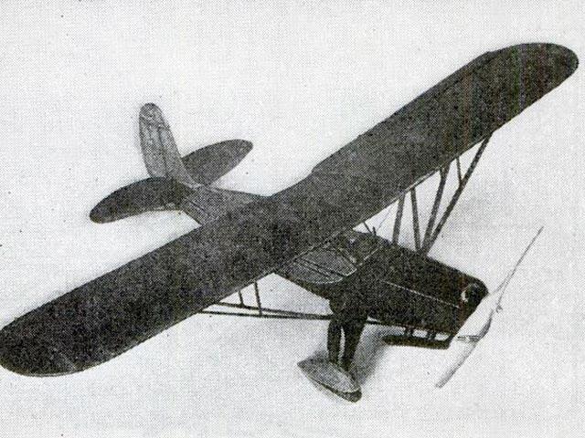 Fairchild 22 (oz316) by Paul Lindberg from Popular Aviation 1934