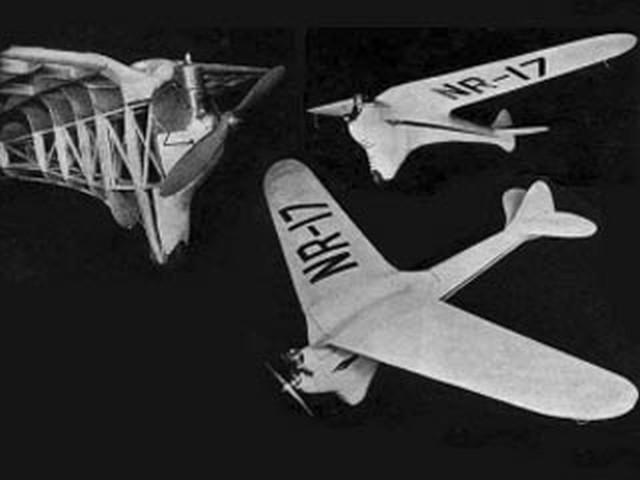 Cloud Buster (oz3175) by Paul Lindberg 1938